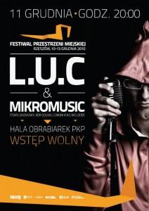 Festiwal Przestrzeni Miejskiej w Rzeszowie - koncert LUC