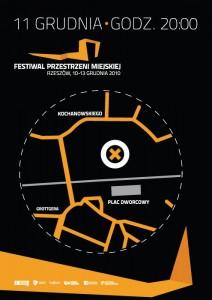 Festiwal Przestrzeni Miejskiej - plakat, mapa