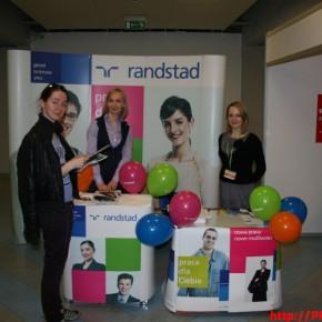 Stoisko Randstad - Podkarpackie Targi Pracy w Rzeszowie