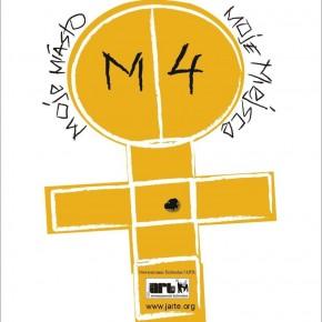 m4 moje miasto moje miejsce logotyp warsztaty artystyczne impreza plenerowa