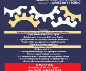 Warsztaty InnoFund 26.marca – ostatnie wolne miejsca