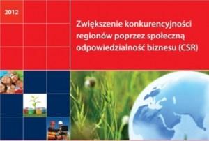 Ulotka csr Zwiększenie konkurencyjności regionów przez społeczną odpowiedzialność biznesu (CSR)
