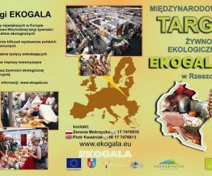 [25.05] EKOGALA – targi ekologicznej żywności w Rzeszowie