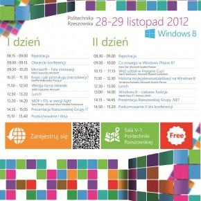 PLAKAT ITAD 2012 w Rzeszowie - darmowa konferencja Microsoft