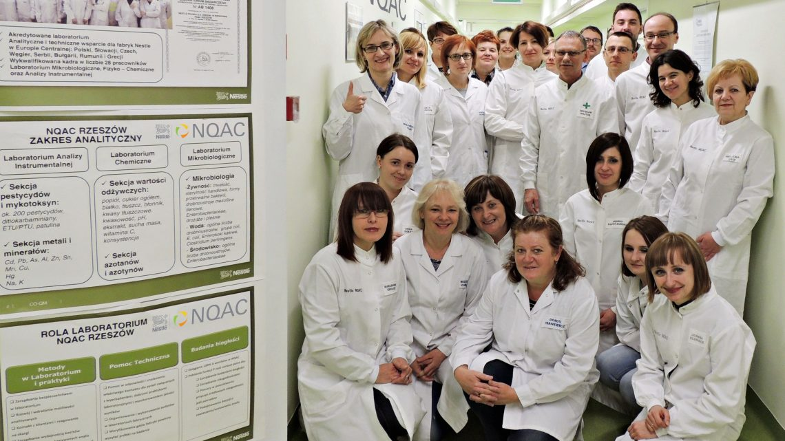 Laboratorium Nestle w Rzeszowie podsumowuje pierwszy rok