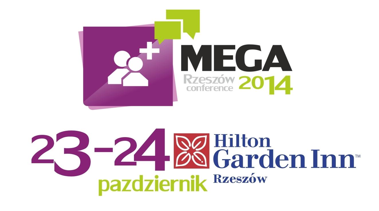 MEGA rzeszow logo 23 pazdziernika 2014 Hilton Garnden Inn