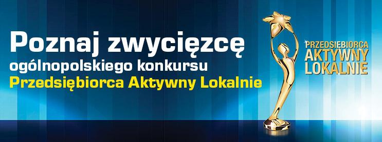 """Rzeszowska Cukiernia Orłowski & Rak wygrywa konkurs """"Przedsiębiorca Aktywny Lokalnie"""""""