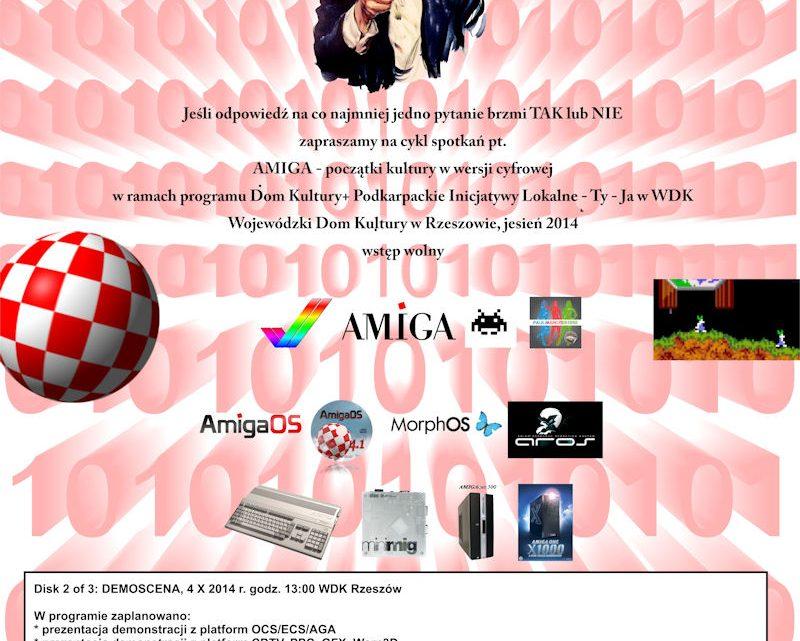 Demoscena AMIGA w WDK Przypomną początki cyfrowej sztuki