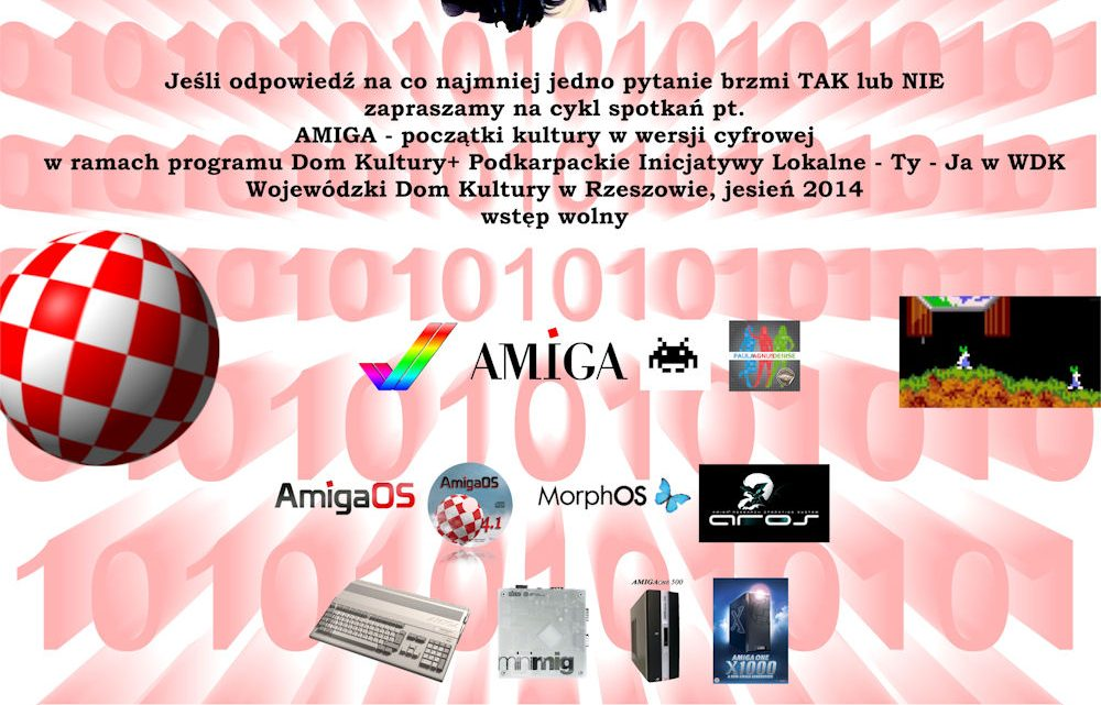 15.listopada turniej retro gier komputerowych – AMIGA w WDK