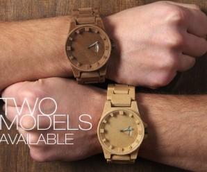 Zegarek odlany z… drewna? Kupisz rzeszowski wydruk 3D?