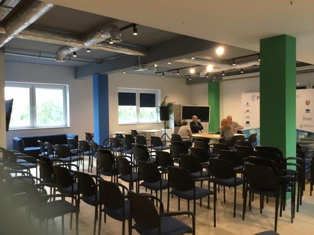 Podkarpackie Centrum Innowacji Rzeszów spotkania branżowe sala szkoleniowa