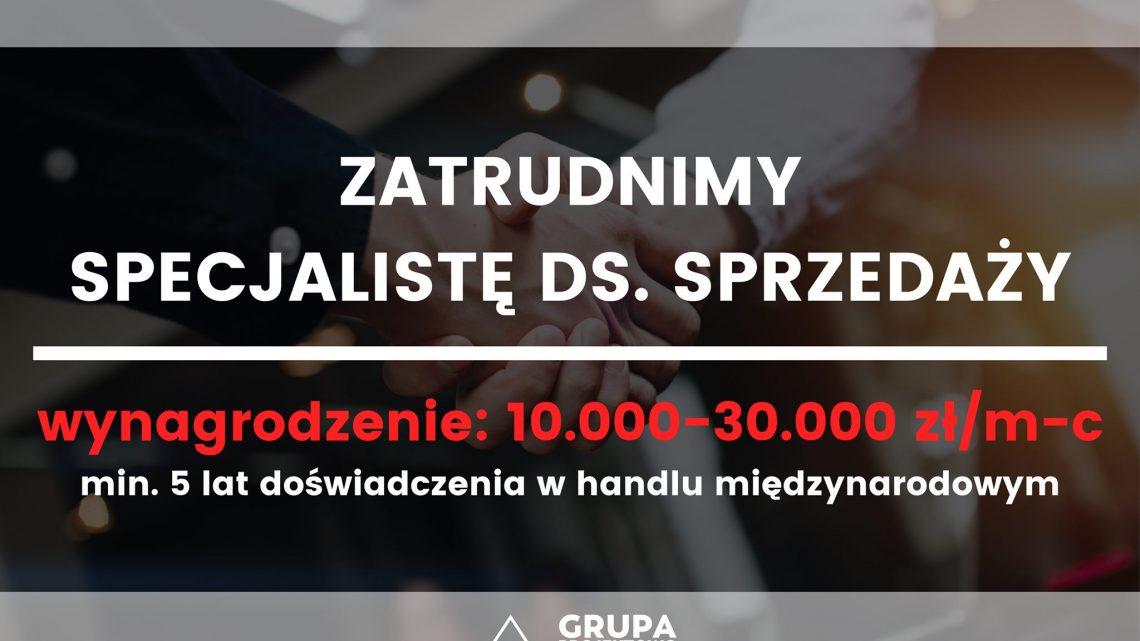 [Mielec] Handlowiec branży metalowej 10k+ 2 języki obce